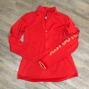 Women's Nike pro dri fit quarter zip